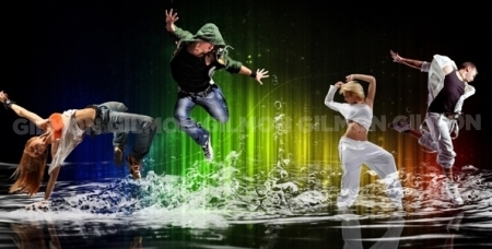 Абонемент на 8 посещений от школы танцев и фитнеса Dance School & Fitness SK
