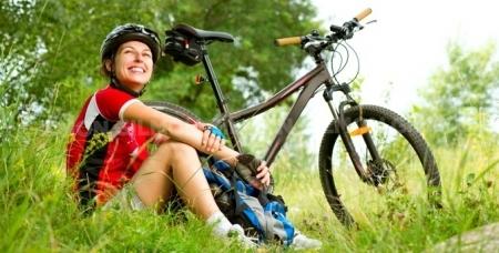 Колесите с удовольствием! Прокат горных велосипедов от 100 рублей в компании Sport House.