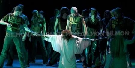 """Билеты на рок-оперу в двух действиях """"Иисус Христос-Супер звезда"""" в конгресс - холле Малахит."""