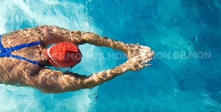 """Бассейн, фитнес, тренажёрный зал, аквааэробика и посещение сауны в спортивно - оздоровительном комплексе """"Юбилейный"""""""